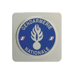 MEDAILLE GENDARMERIE A SUPPORT CARRE